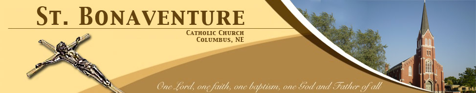 St. Bonaventure Catholic Church - Columbus, NE